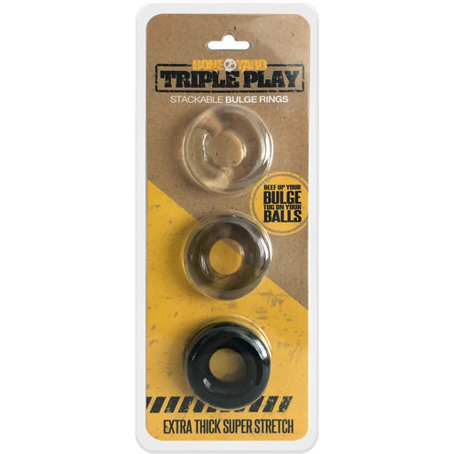 Triple Play Cock Ring - C1RB2B