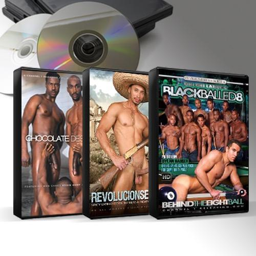 Black & Latin DVD Mix 25 Titles for $5 Each