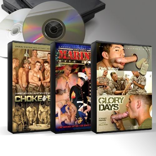 Military DVD Mix 25 Titles for $5 Each