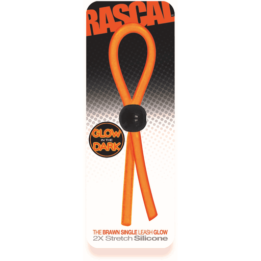 Brawn Single Leash Glow Orange
