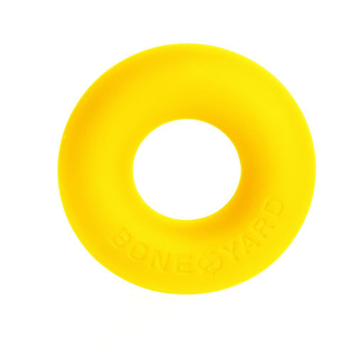 Ultimate Silicone Cock Ring Yellow - C1RB2B