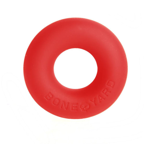 Ultimate Silicone Cock Ring Red - C1RB2B