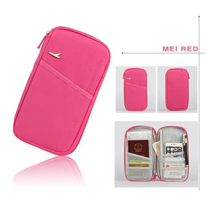 Multifunction Travel Passport Cover/Wallet/Credit Card/Package ID Holder/Storage Organizer