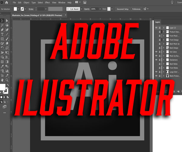 Adobe Illustrator for Screen Printing