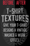 T-Shirt Textures Distressed & Vintage Pack 1