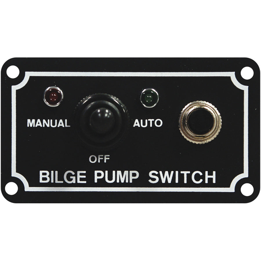 LED Bilge Pump Dash Switch