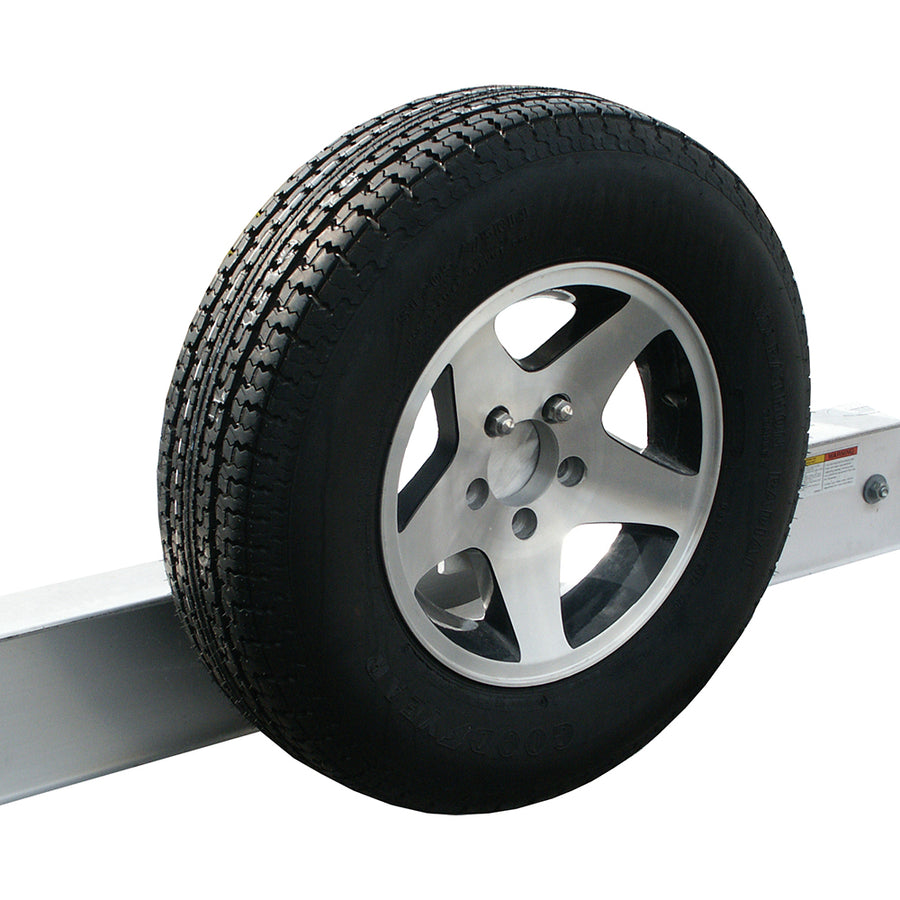 Offset Spare Tire Carrier