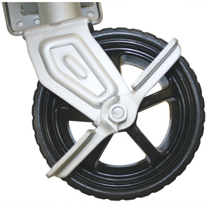 "1500 & 2500 lb. SEACOAT™ ""Mighty Wheel™"" Swing-Up Trailer Jack"