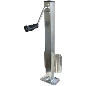 Zinc Plated Square Tube Trailer Jack | 2500 lb