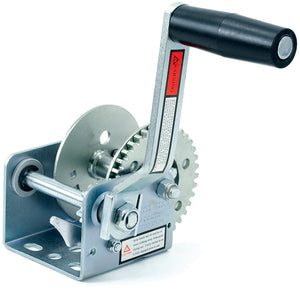 Zinc Plated Trailer Winch | 600 lb