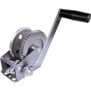 Zinc Plated Trailer Winch | 1000 lb