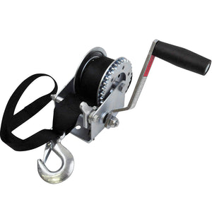 Zinc Plated PWC Trailer Winch | 900 lb