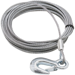 Heavy-Duty Winch Cable with Hook