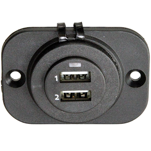 USB 2 Port Charger Socket
