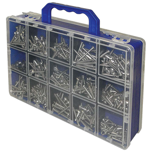 Stainless Steel Deluxe Screw / Fastener Kit