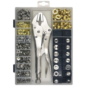 450 Piece Canvas Fastener Kit