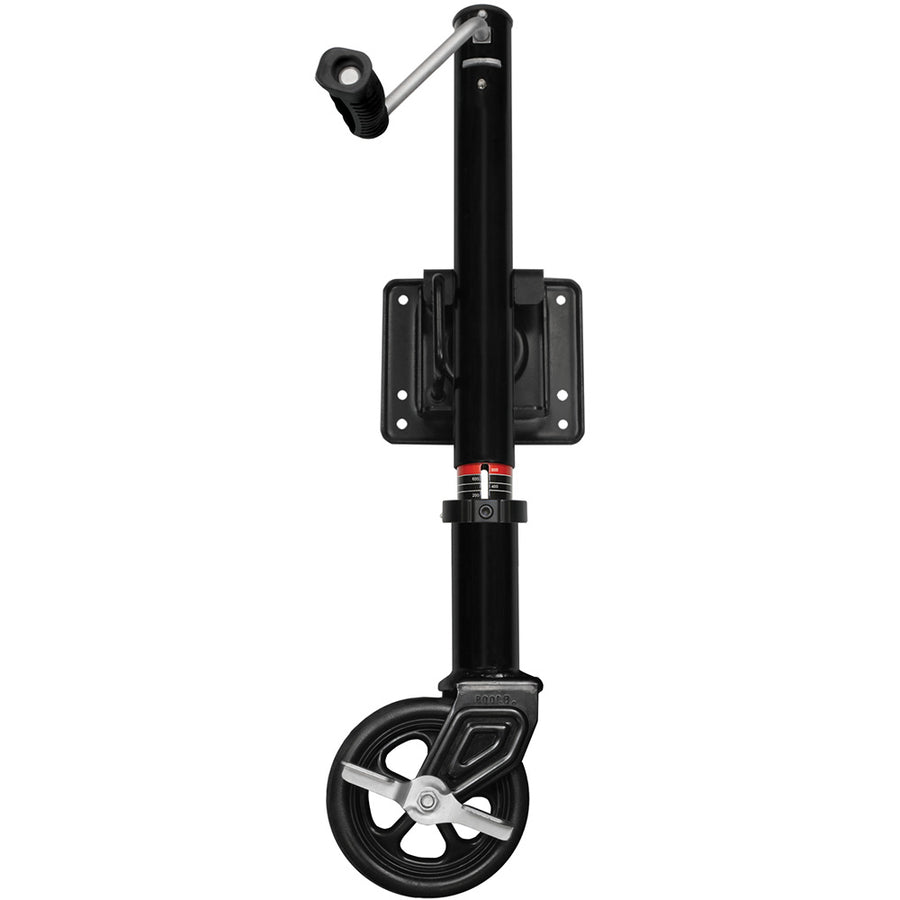 Tongue Weight Indicator Safety Swing-Up Trailer Jack | 800 lb