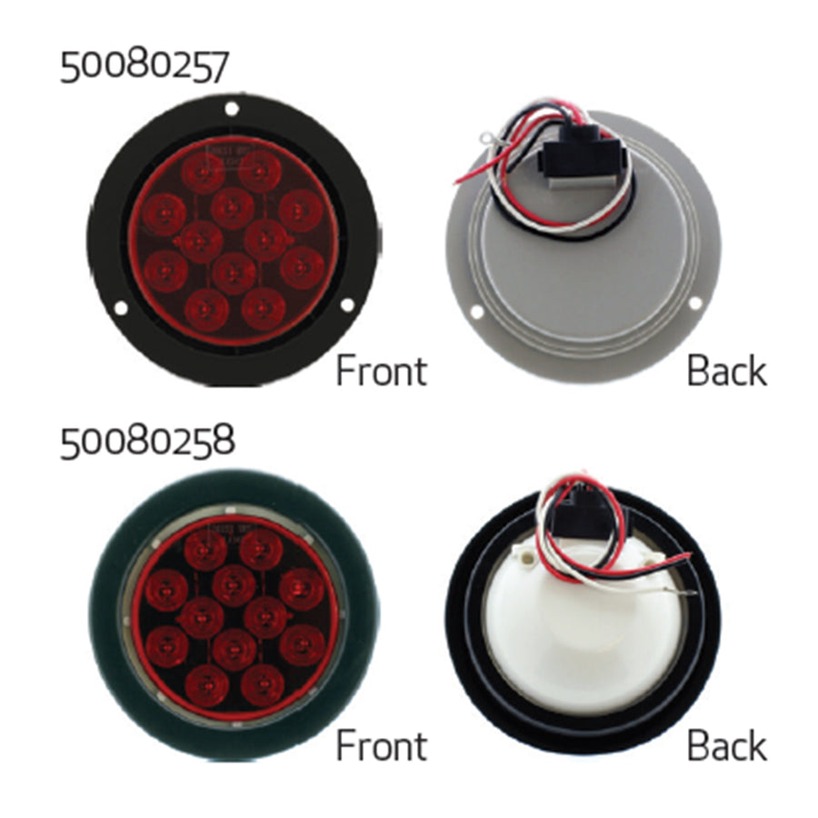 LED Round Tail Lights