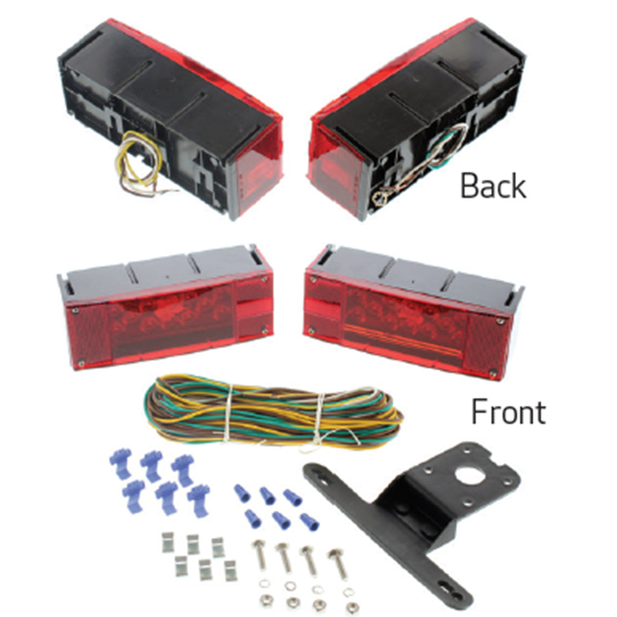 Low Profile LED Tail Lights