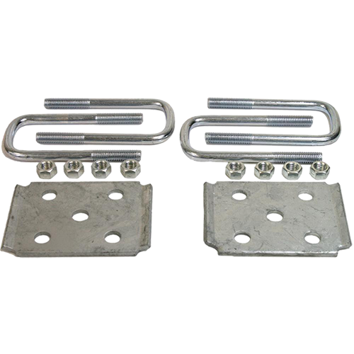 Axle Tie Galvanized Plate Kit