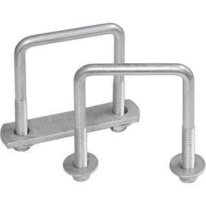 Square U Bolts | Galvanized & Zinc