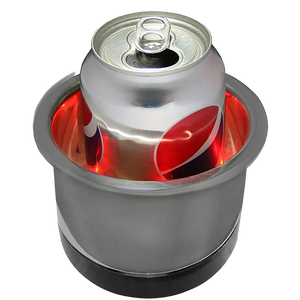 Stainless Steel LED Lighted Cup Holders