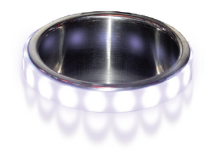 LED Cup Holder Accent Bezel