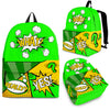 Bubblelingo Backpack - Comic Speech Bubbles - Green