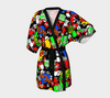 Bubblelingo Kimono Robe - Hi Multicomic Chat bubbles