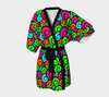 Bubblelingo Kimono Robe - Multicolored Swirl Pattern