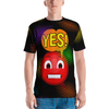 YES! Frustrated Emoji Speech Bubble Men's T-Shirt