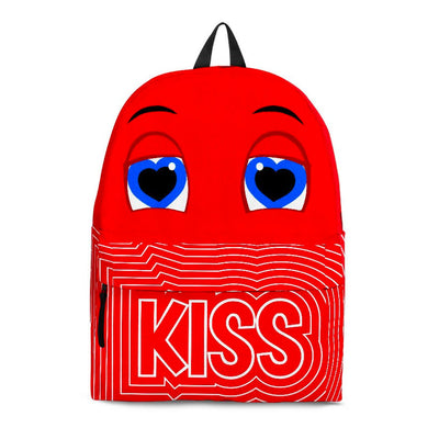 "Bubblelingo ""KISS"" Red Backpack"