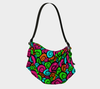 Bubblelingo Origami Tote - Multicolored Swirl Pattern