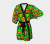 Bubblelingo Kimono Robe - Comic Circle - Green