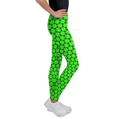 Bubblelingo Dreamer Green Girls' Leggings side view