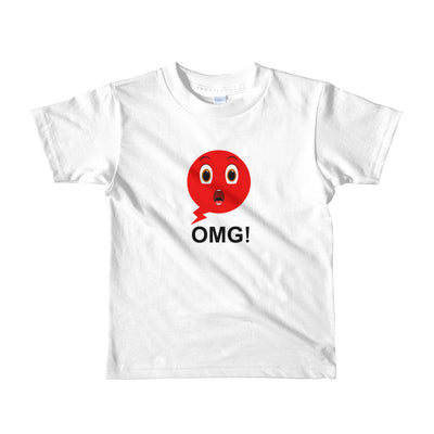 Bubblelingo Shocky Speech bubble t-shirt for little boys