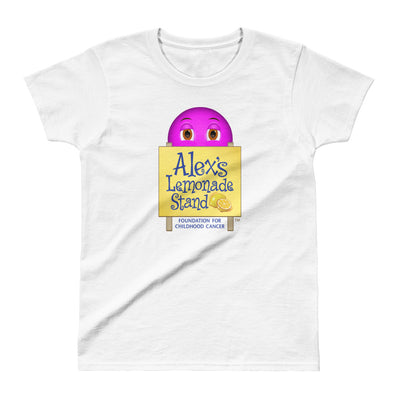 Smiley with Alex's Lemonade Stand Women's T-shirt