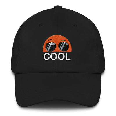 Embroidered Black Cap Bubblelingo Cool Dude Speech Bubble