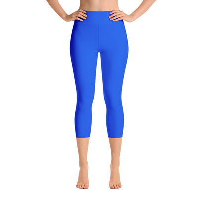 Bubblelingo Yoga Capri Leggings - Blue