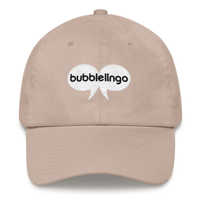 Embroidered Cap  Stone Bubblelingo Logo