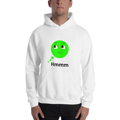 Bubblelingo Dreamer Speech Bubble Hooded Sweatshirt unisex white