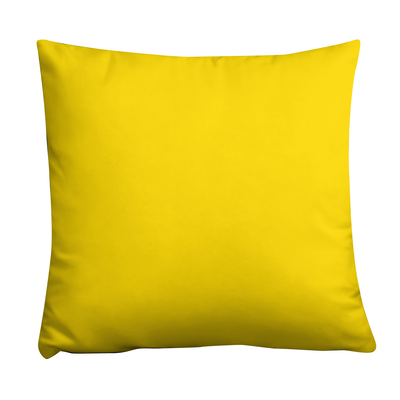 Bubblelingo Silly Nilly Yellow Throw Pillow Front