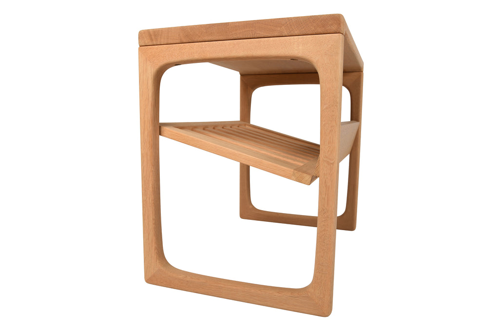 Oak Magazine Rack Model #BR41H