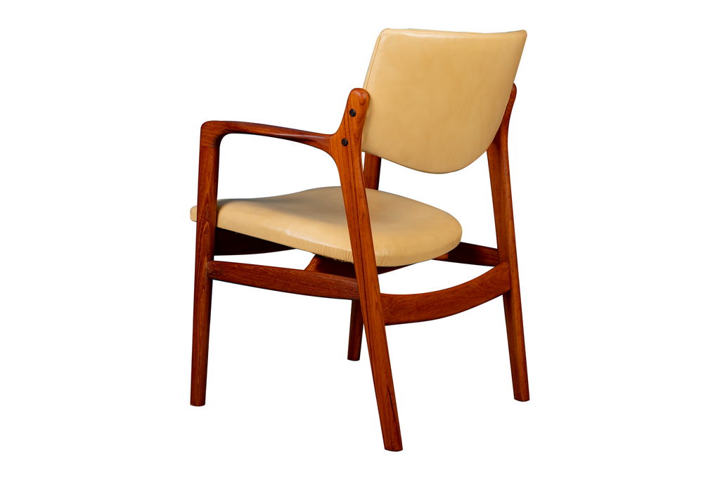 -SOLD- Teak Arm Chair by Finn Haugaard
