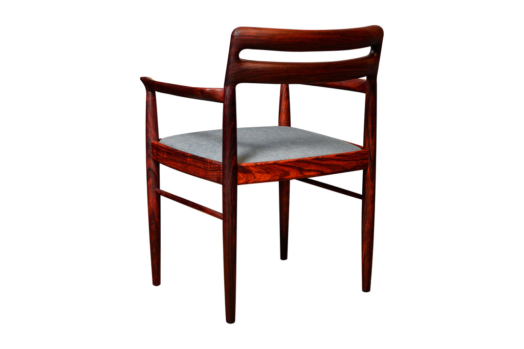 -SOLD- Rosewood Armchair by Henry Walter Klein