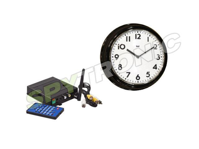 Zone Shield, Hidden wireless camera audio-video (Clock
