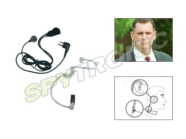 Surveillance kit for two way radios, 2 pins