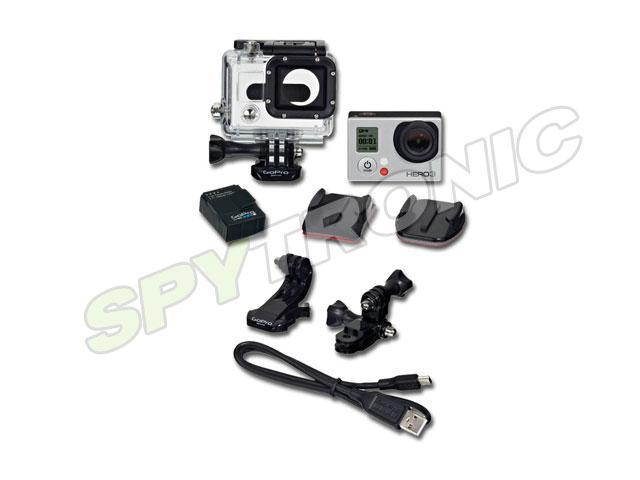 Caméra GoPro HERO3 édition blanche