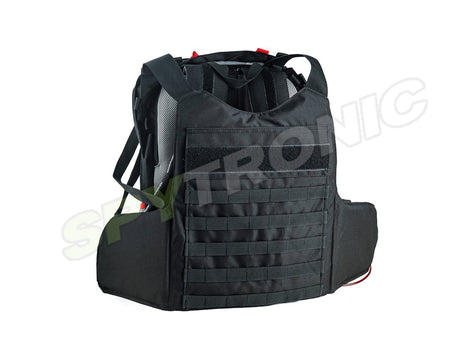 Backpack convertible into bullet-proof vest
