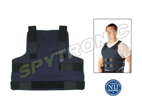 Pick, knife and bullet proof vest, level IIIA